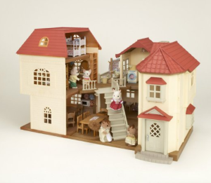 Sylvanian Puppenhäuser mit Zubehör