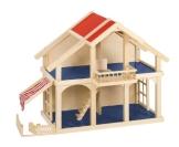 Goki 51893 - Puppenhaus mit Veranda - 1