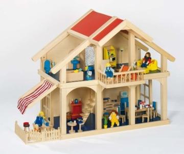 Goki 51893 - Puppenhaus mit Veranda - 2