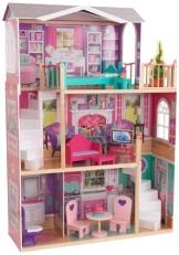 Kidkraft 65830 großes Barbiehaus, Puppenhaus für 46 cm Puppen - 1