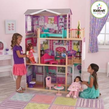 Kidkraft 65830 großes Barbiehaus, Puppenhaus für 46 cm Puppen - 2