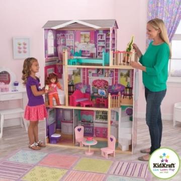 Kidkraft 65830 großes Barbiehaus, Puppenhaus für 46 cm Puppen - 3