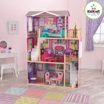 Kidkraft 65830 großes Barbiehaus, Puppenhaus für 46 cm Puppen - 4