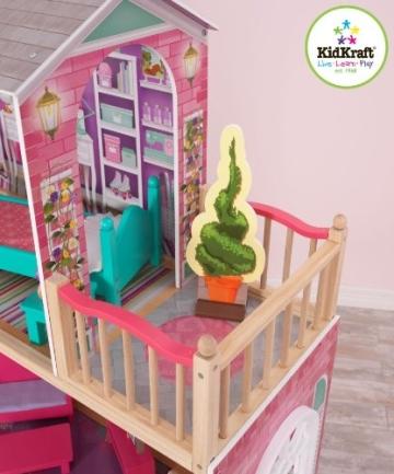 Kidkraft 65830 großes Barbiehaus, Puppenhaus für 46 cm Puppen - 6
