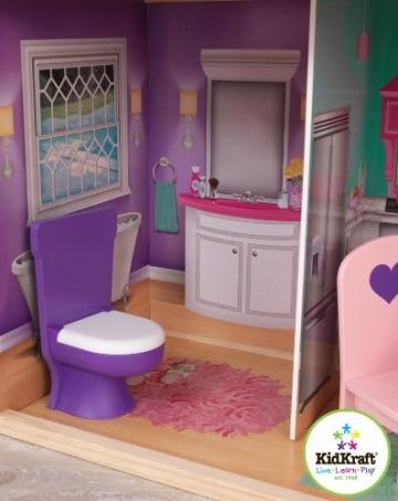 Kidkraft 65830 großes Barbiehaus, Puppenhaus für 46 cm Puppen - 8