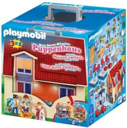 PLAYMOBIL 5167 - Neues Mitnehm-Puppenhaus - 1