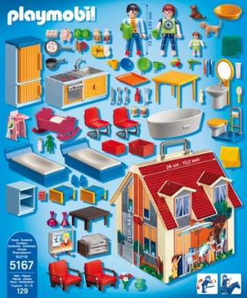 PLAYMOBIL 5167 - Neues Mitnehm-Puppenhaus - 3