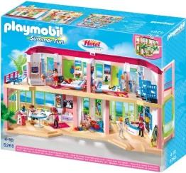 PLAYMOBIL 5265 - Großes Ferienhotel mit Einrichtung - 1