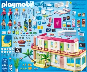 PLAYMOBIL 5265 - Großes Ferienhotel mit Einrichtung - 3