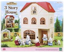 Sylvanian Families 2738 3 stöckiges Haus + Figur + Möbel - 1