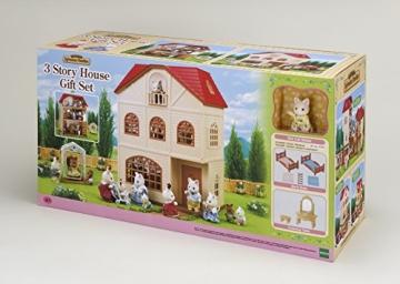 Sylvanian Families 2738 3 stöckiges Haus + Figur + Möbel - 2