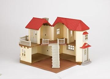 sylvanian families 2752 stadthaus mit licht puppenh user und puppenstuben. Black Bedroom Furniture Sets. Home Design Ideas