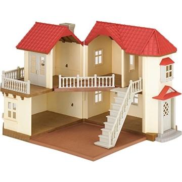 Sylvanian Families 3644 Stadthaus mit Licht Geschenk Set Sissi und Konstantin Knacks - 6
