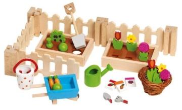 Goki 51729 - Puppenzubehör - Mein, kleiner Garten - 1