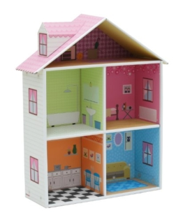 Krooom K-216 - Puppenhaus klein - 1