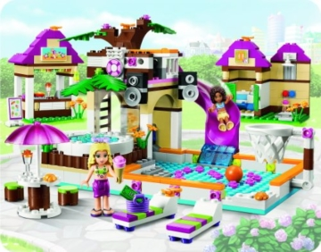 Lego Friends 41008 - Großes Schwimmbad - 2