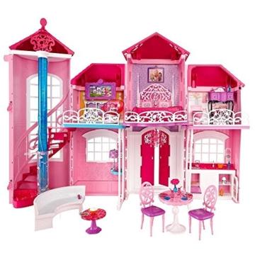 Mattel Barbie BJP34 - Traumhaus mit viel Zubehör - 1