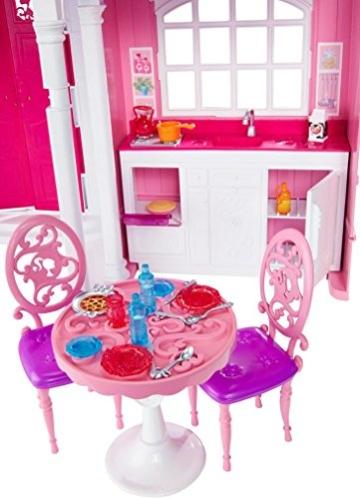 Mattel Barbie BJP34 - Traumhaus mit viel Zubehör - 8