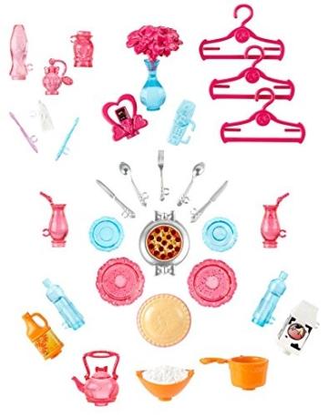 Mattel Barbie BJP34 - Traumhaus mit viel Zubehör - 9