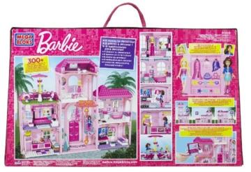 Mega Bloks 80229 - Barbie - Build 'n Style Luxus Villa - 2