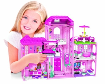 Mega Bloks 80229 - Barbie - Build 'n Style Luxus Villa - 11