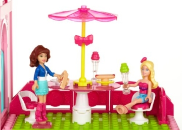 Mega Bloks 80229 - Barbie - Build 'n Style Luxus Villa - 12