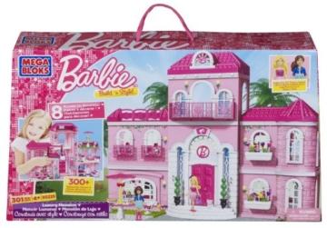Mega Bloks 80229 - Barbie - Build 'n Style Luxus Villa - 1