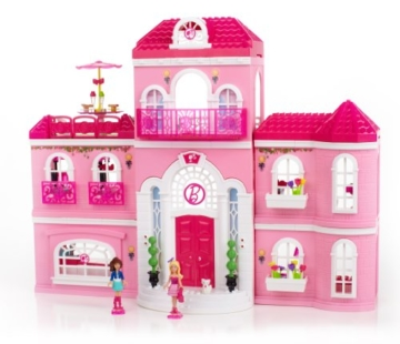 Mega Bloks 80229 - Barbie - Build 'n Style Luxus Villa - 6