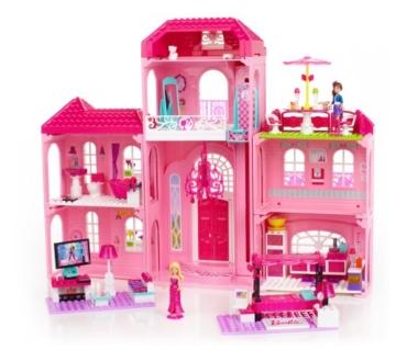 Mega Bloks 80229 - Barbie - Build 'n Style Luxus Villa - 7