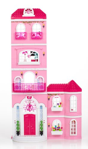Mega Bloks 80229 - Barbie - Build 'n Style Luxus Villa - 10