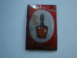 1115A1-646: Maggi Miniatur Blechschild für Kaufladen / Puppenstube