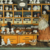 Alte Puppenstube um 1900 , 115 Puppenteile, aus Biskuit-und Glanzporzellan, Thür