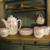 Bildschöne, imposante, antike, große Puppenstube/Küche, Manufakturarbeit, super!