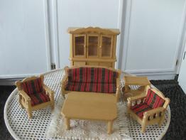 Bodo Hennig Puppenmöbel für Puppenhäuser - Wohnzimmer