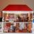 DDR Puppenhaus Puppenstube mit Beleuchtung Klingel beweglichen Türen  Konvolut