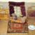 !!! MUSEALE  PUPPENSTUBE  WOHNZIMMER  HISTORISMUS  um 1890   !!!
