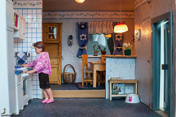 Puppenhaus-Puppenstube