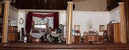 Puppenhaus  Puppenstube Bauernstube um 19400 #5223 Spielzeug