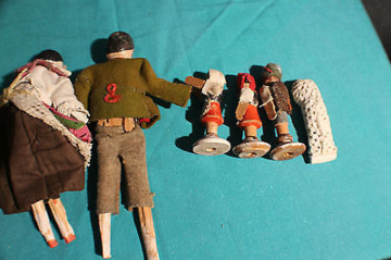 Puppenhaus Tiroler Puppenstube Bauernstube um 1900 #5222 Spielzeug
