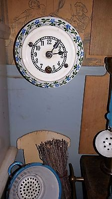 Puppenstube Küche Emaille Porzellan Holz Blech Glas Schaugerichte antik