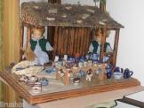 Puppenstube ,Marktstand, Kaufladen, Krippe, Sammlerstück,