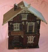 Sehr alte Puppenstube von 1913 Puppenhaus Antik Spielzeug Puppen