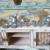 Sehr große antike Puppenstube Puppenküche ca 80 Teile Original 80 cm um1900 alt