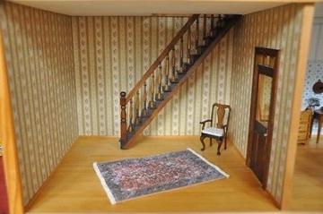 Zweigeschossige Puppenstube mit drei Räumen Mini Mundus Bodo Hennig u.a.