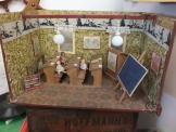 altes Klassenzimmer Kaufladen,Puppenstube,Antik