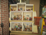 Altes Museales Puppenhaus, Antik 40er Jahre , Puppenstube , Puppenvilla,