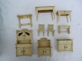 Altes Puppenstubenmöbel Jugendstil Küche