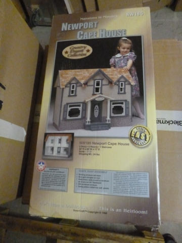 Dura-Craft Newport Cape Haus NW 185 1:12 Dollhouse, USA Puppenstube Bausatz