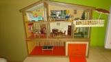 ☆ Lundby ☆ altes Puppenhaus + Garage ☆ 70/80er Puppenstube ☆ Lisa Schwedenhaus ☆