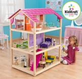 Kidkraft Puppenhaus Puppenstube groß Holz drehbar 65078  für Barbies Spielhaus